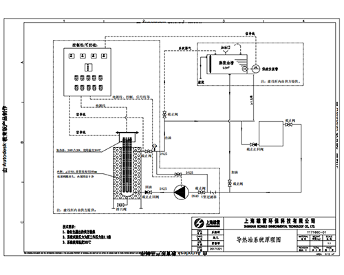导热油系统图