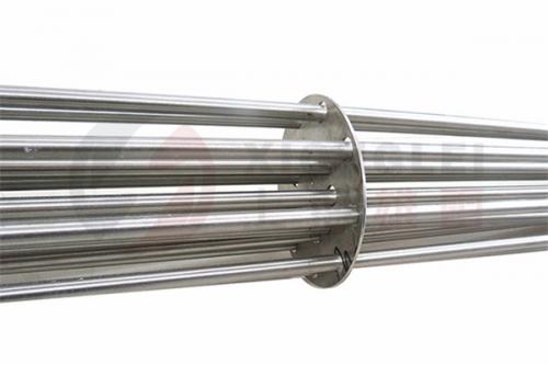 集束式法兰电加热管