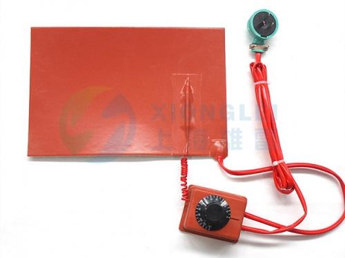 过热保护硅胶电加热片